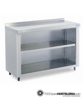 Mueble contramostrador 1 estante intermedio