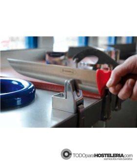 Afilador de cuchillos manual de sobremesa