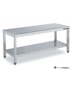 Mesa central estándar con estante