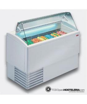 Vitrina profesional para helado