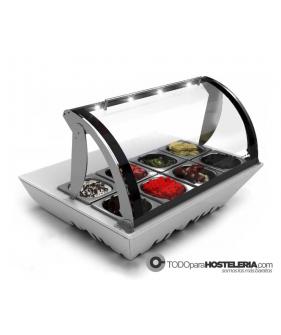 Vitrina Topping Box refrigerada