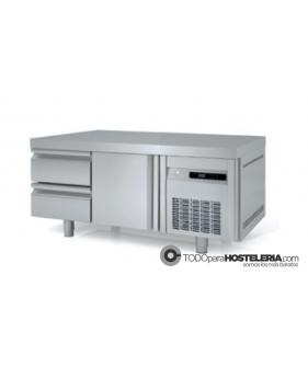 Mesa Fria GN 1/1 Refrigeración Bajo Cocina Cajones