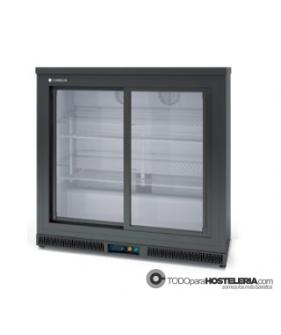 Expositor refrigerado Horizontal  2 Puerta Cristal Corredera