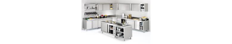 Muebles y armarios con puertas para hosteleria y cocinas industriales