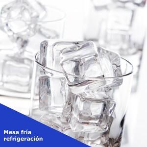 ❄️ Para almacenar y manipular los alimentos fríos en tu restaurante, es imprescindible tener un espacio que los mantenga a la temperatura perfecta. Para ello, siempre es importante tener buena maquinaria, de calidad, y nuestra mesa fría de refrigeración cumple con todos los requisitos, además de ser ergonómica y con fregadero incorporado. Si quieres la maquinaria perfecta para conservar tus alimentos bien fríos, no lo dudes y visita nuestra web.  #maquinariarestaurantes #maquinariahosteleria #equipamientorestaurantes #equipamientohosteleria #restaurantes #hosteleria #equiposparahosteleria #serviciosparahosteleria #equipacionparahosteleria #productosparahosteleria #maquinariaparahosteleria #todoparahosteleria