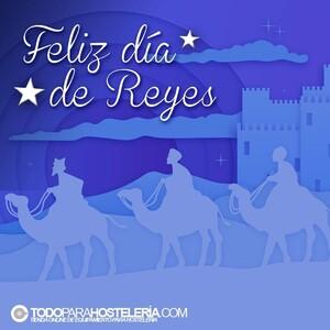👑👑👑 Desde TodoParaHostelería deseamos un mágico día de Reyes y que os traigan salud y solo lo mejor para 2021   #resyes2021 #diadereyes #felizdiadereyes